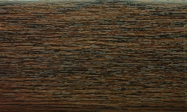 Угол пвх ламинированный 30х30 мм тёмный дуб