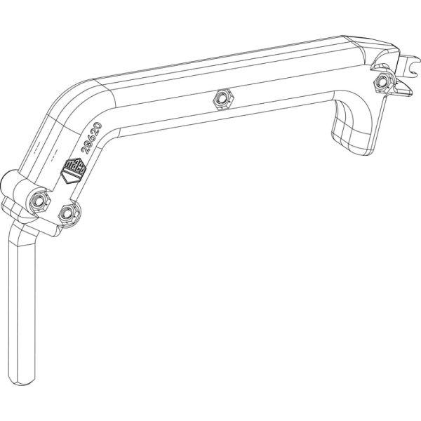 Инструмент для регулировки, срывная ручка MACO