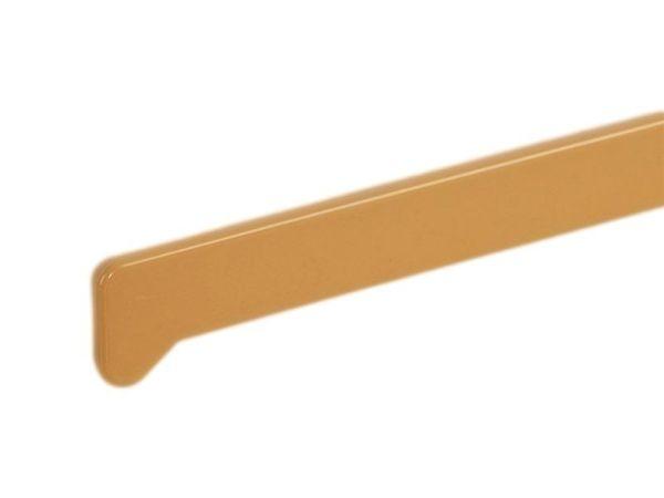 Заглушки на подоконники пвх «Möller» светлый дуб 625 мм