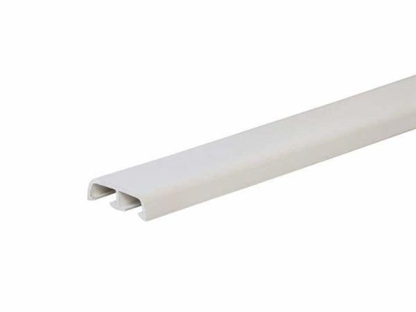 Наличник (нащельник) на ниппелях белый 35 мм