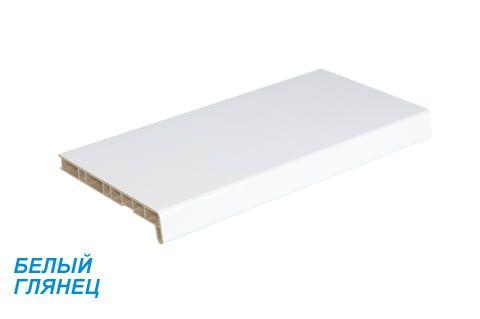 Подоконники ПВХ «Crystallit» (Кристалит) белый глянцевый