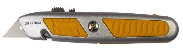 "Нож ""Ultima"" трапециевидное лезвие (отделение для лезвий) 18 мм"