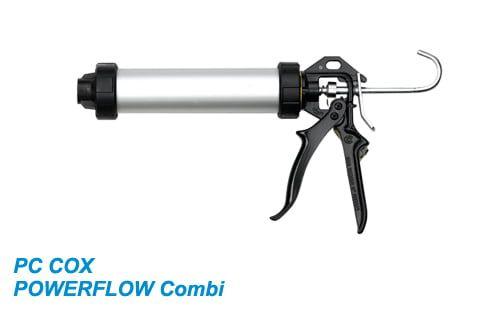 Пистолет для герметиков PC COX POWERFLOW Combi