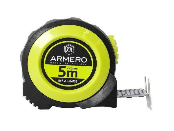 Рулетка Armero A100/052 автоблок. 5м/25 мм