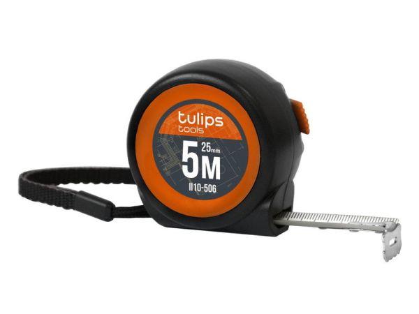 """Рулетка мини с автоблокировкой """"Tulips tools"""" 5 м/25 мм"""