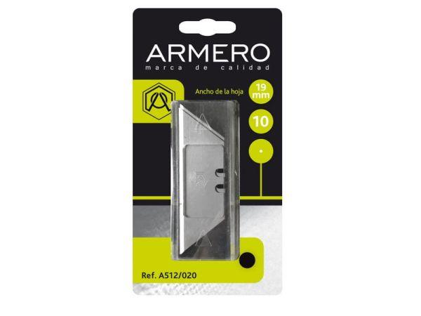 Лезвие трапеция Armero A512/020 19 мм (10 шт.)