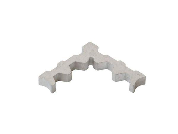 Уголок для москитной сетки внутренний алюминиевый