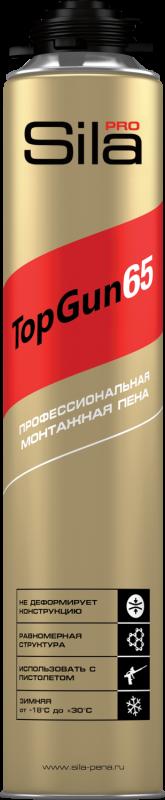 Пена монтажная Sila TopGun 65, зимняя