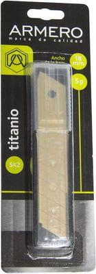 Лезвие сегм. Armero A512/118 Tytan 18мм (5 шт.)