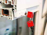 BSL Замок-блокиратор на окна BABY SAFE LOCK белый