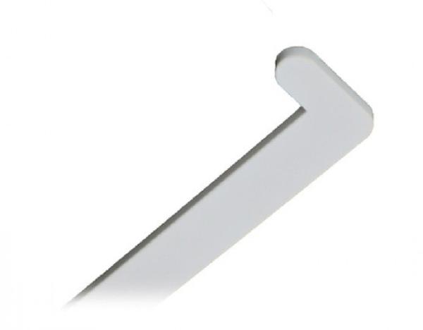 Заглушки на подоконники «МастерПласт» белый