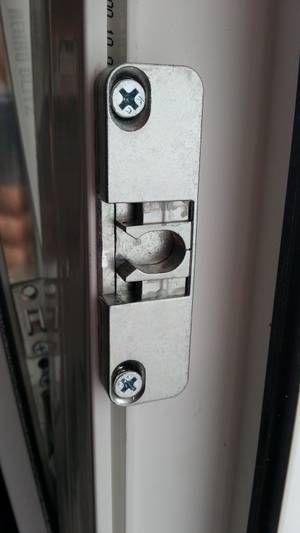 Защелка для балконной двери 9 мм