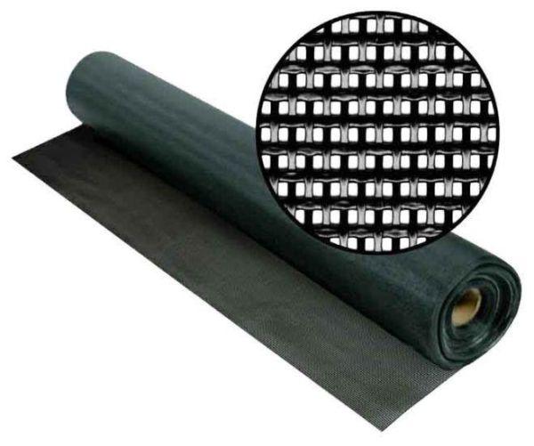 Москитная сетка чёрная антикошка Pet Screen 1400 мм