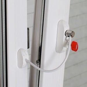 BSL Замок-ограничитель открывания на окна BSL CABLE PRIME белый