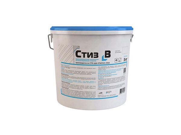 Однокомпонентный акрилатный паропроницаемый герметик Стиз-B, ведро 3 кг