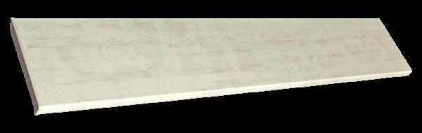 Подоконники пвх «Möller» цветной матовый белый ручей