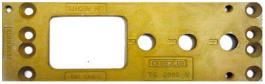 Монтажная пластина для доводчика TS 2000