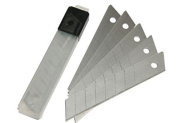 Лезвие для ножа 18 мм (10 шт.)