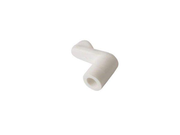 Кронштейн (флажок) поворотный для сетки белый