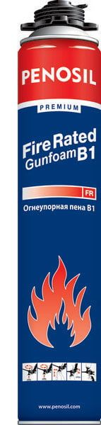 Пена PENOSIL Premium Fire Rated Gunfoam B1