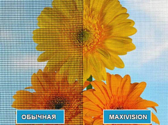 Москитные сетки Maxi Vision (максимальный обзор) по вашим размерам