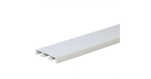 Наличник (нащельник) на ниппелях белый 75 мм