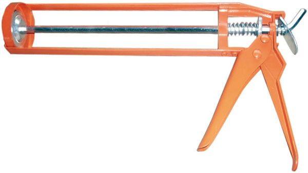 Пистолет для герметиков скелетный с шестигранным штоком