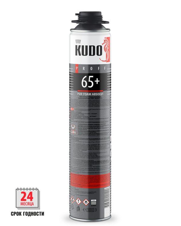 Пена монтажная KUDO PROFF 65+ летняя