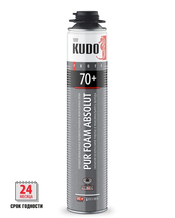 Пена монтажная KUDO PROFF 70+ летняя