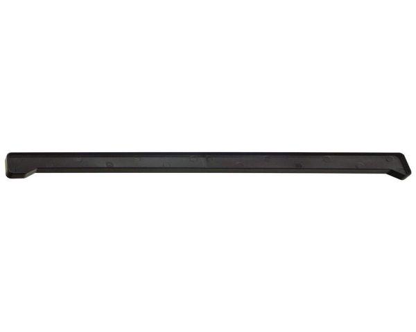 Стыки на подоконники пвх «Möller» чёрный ультрамат 490 мм