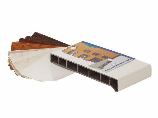 Раскладка подоконника Moeller LD-S 30 с образцами ламината 16 цветов