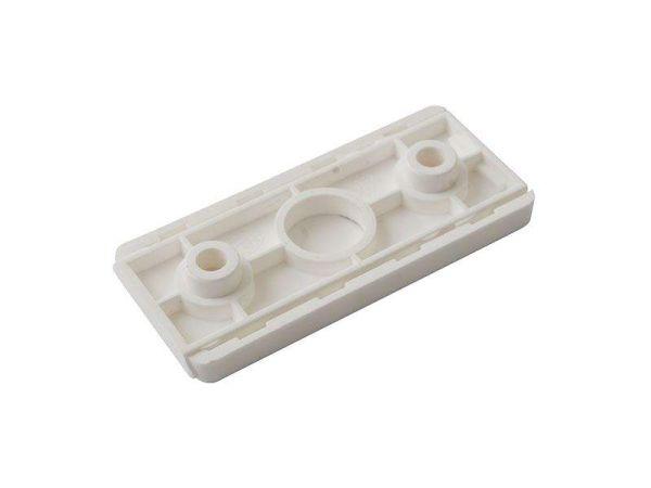 Заглушка-розетка для пластиковых окон бел.