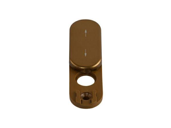 Заглушка-розетка для пластиковых окон Rotoline бронза