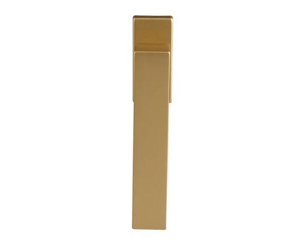 Ручка оконная DUBLIN 45 мм, алюминиевая золото матовый