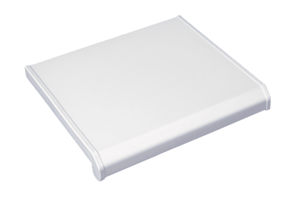 Подоконники пвх «Danke Standart» satin bianco (белый матовый)