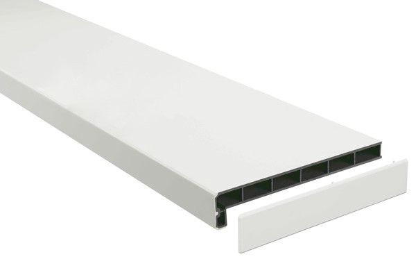 Подоконники пластик «Möller» (Меллер) LD-40 белый матовый clean touch