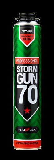 Пена монтажная PROFFLEX STORM GUN 70 летняя