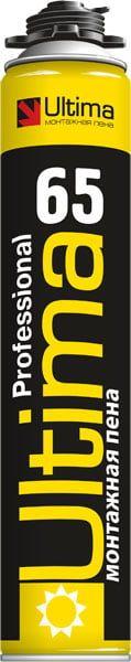 Пена монтажная ULTIMA Professional 65 летняя