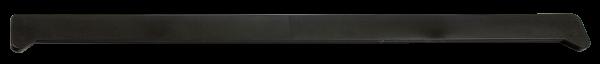 Заглушки на подоконники пвх «Möller» чёрный ультрамат 460 мм
