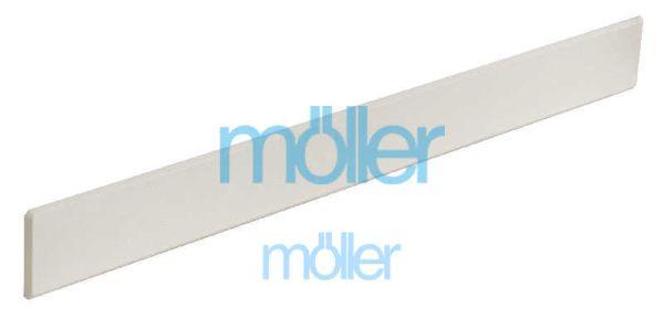 Заглушки на подоконники пвх «Möller» LD-40 белый 605 мм