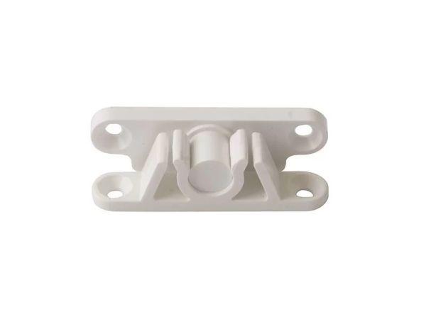 S42 защёлка для дверной москитной сетки белая